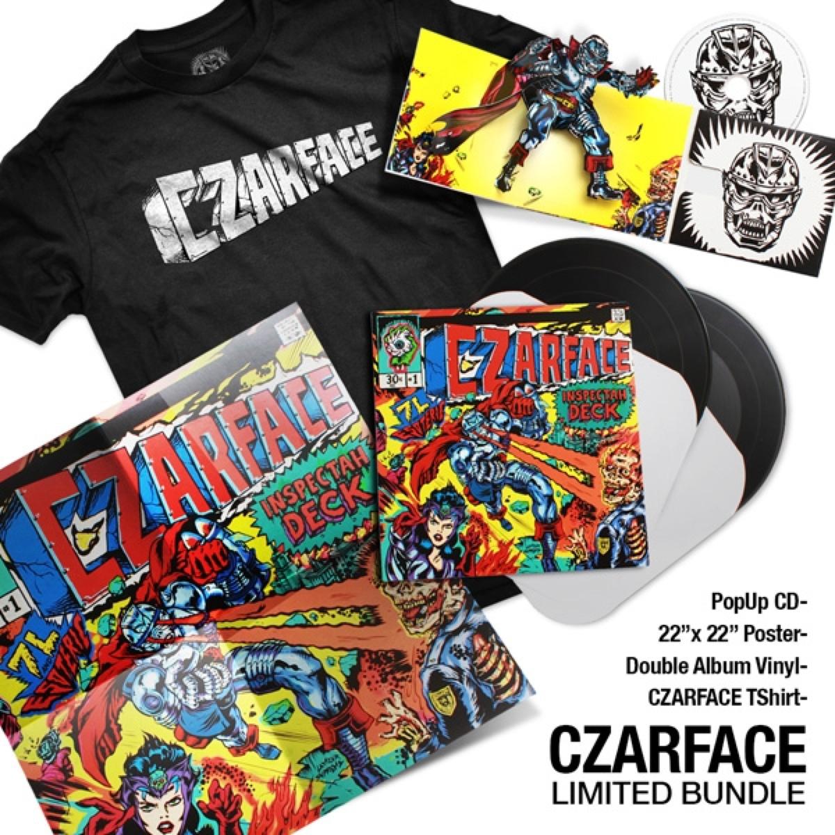 Czarface 7l Esoteric Inspectah Deck Limited Bundle